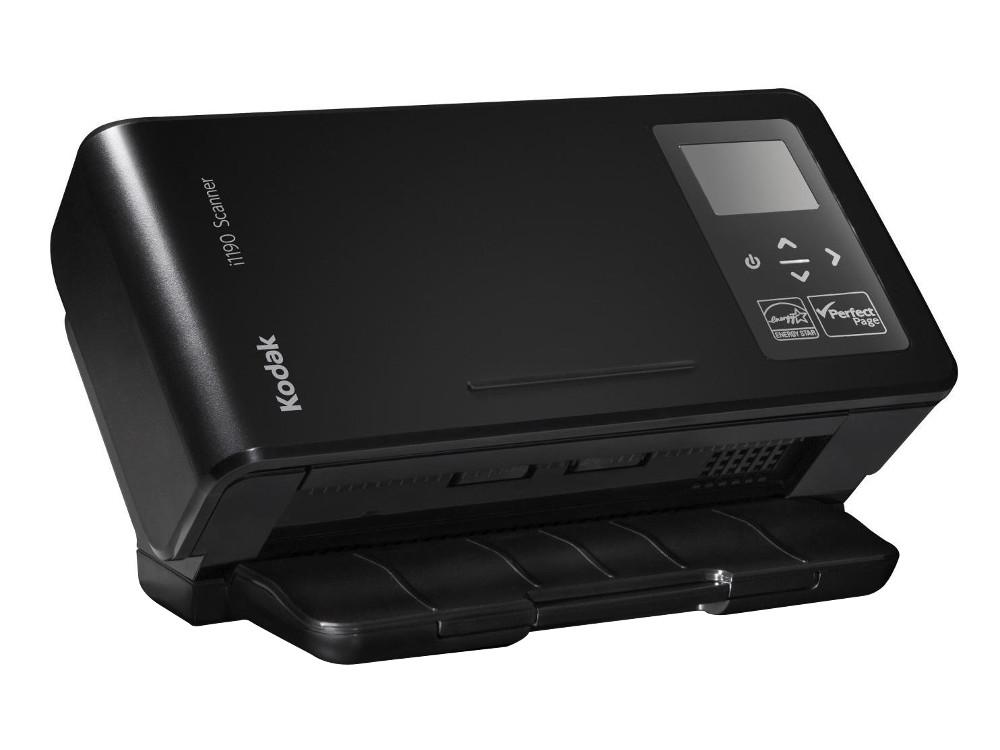 Сканер Kodak i1190 (Цветной, двухсторонний, ADF 75 листов, А4, 40 стр/мин, арт. 1333848) цены онлайн