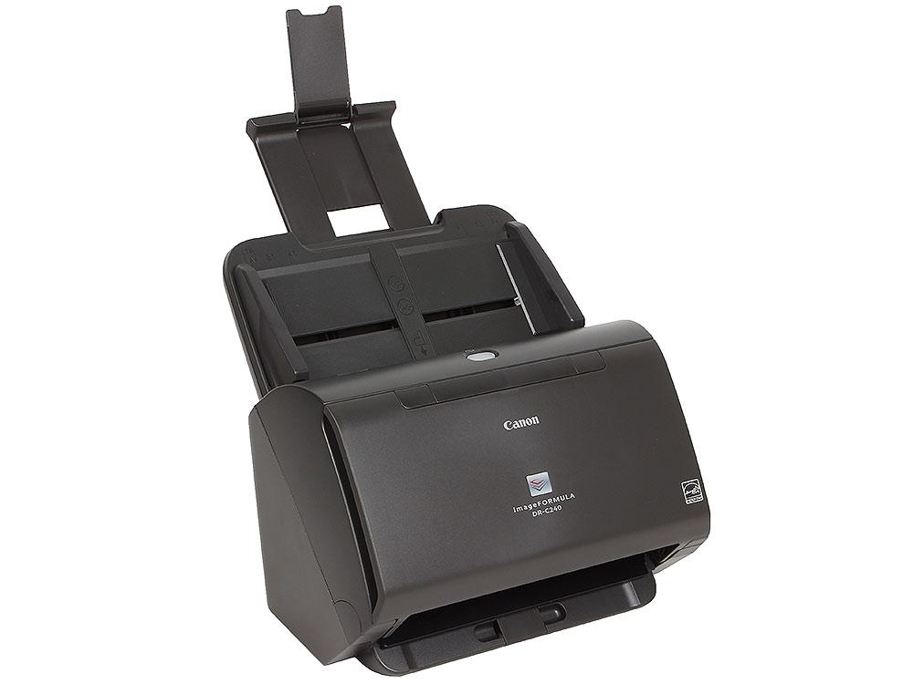 Сканер Canon DR-C240 (Цветной, двусторонний, 45 стр./мин, ADF 60,High Speed USB 2.0, A4) {0651C003}
