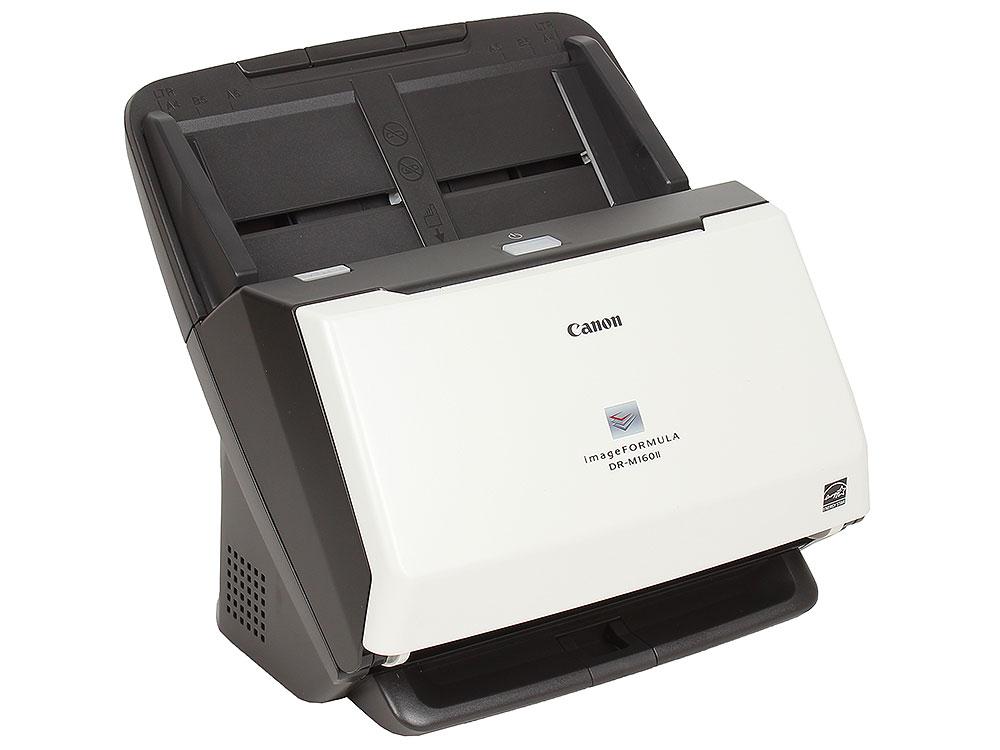 Сканер Canon DR-M160II Цветной, двусторонний, 60 стр./мин, ADF 60, USB 2.0, A4 (9725B003) сканер canon dr c240 цветной двусторонний 45 стр мин adf 60 high speed usb 2 0 a4 0651c003