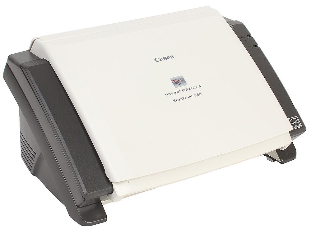 Картинка для Сканер сетевой Canon SCANFRONT 330 (Цветной, двусторонний,30 стр./мин, ADF 50, USB 2.0) 8683B003