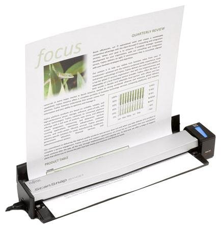 Сканер Fujitsu ScanSnap S1100i протяжный А4 600x600 dpi CIS USB PA03610-B101 сканер проекционный a3 fujitsu scansnap sv600