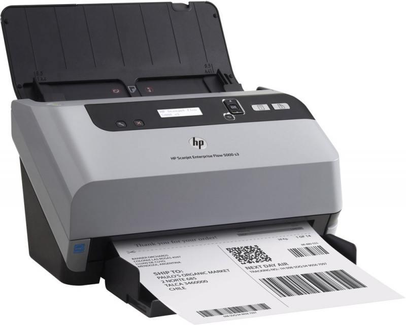 Сканер HP ScanJet Enterprise Flow 5000 s3 L2751A A4 протяжный CCD 600x600dpi USB