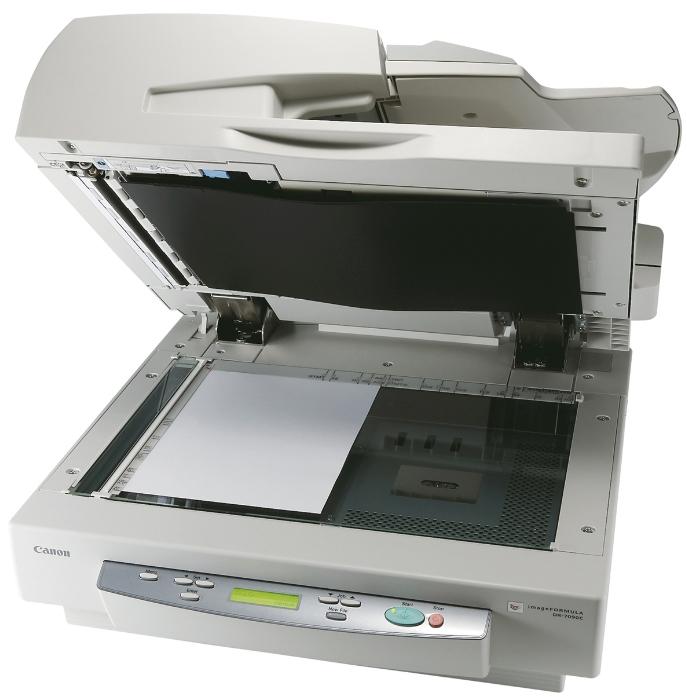 Сканер Canon DR-7090C Цветной, двухсторонний, 70 стр/мин, ADF 100 (3200B003) цены