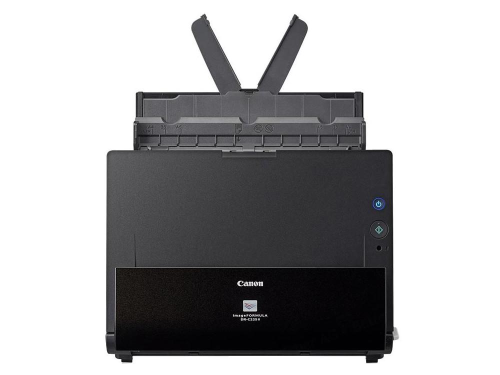 Сканер Canon DR-C225 II (Цветной, двусторонний, 25 стр./мин, ADF 30,High Speed USB 2.0, A4) сканер canon dr c240 цветной двусторонний 45 стр мин adf 60 high speed usb 2 0 a4 0651c003