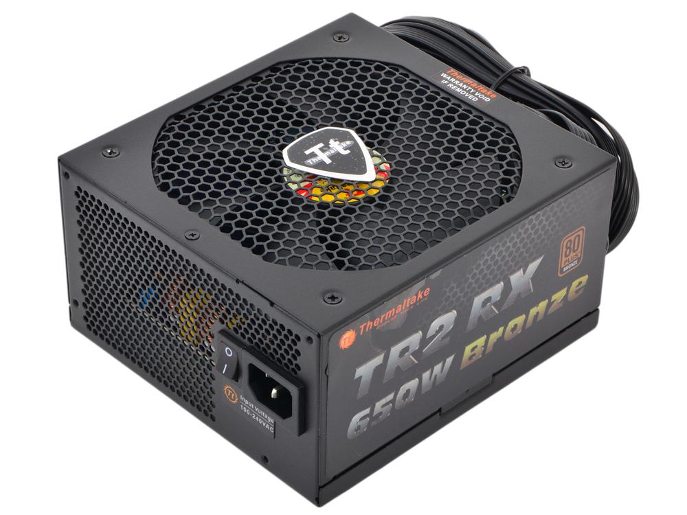 все цены на Блок питания Thermaltake TR2 RX 650 W (TRX-650MPCEU-A) v2.3, A.PFC, 80 Plus Bronze, Fan 14 cm, Modular, Retail онлайн