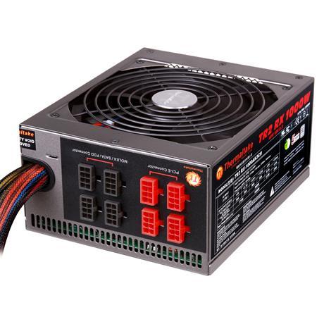 Блок питания Thermaltake TR2 RX 1000 W (TRX-1000MPCEU-A) v2.3, A.PFC, 80 Plus Bronze, Fan 14 cm, Modular, Retail