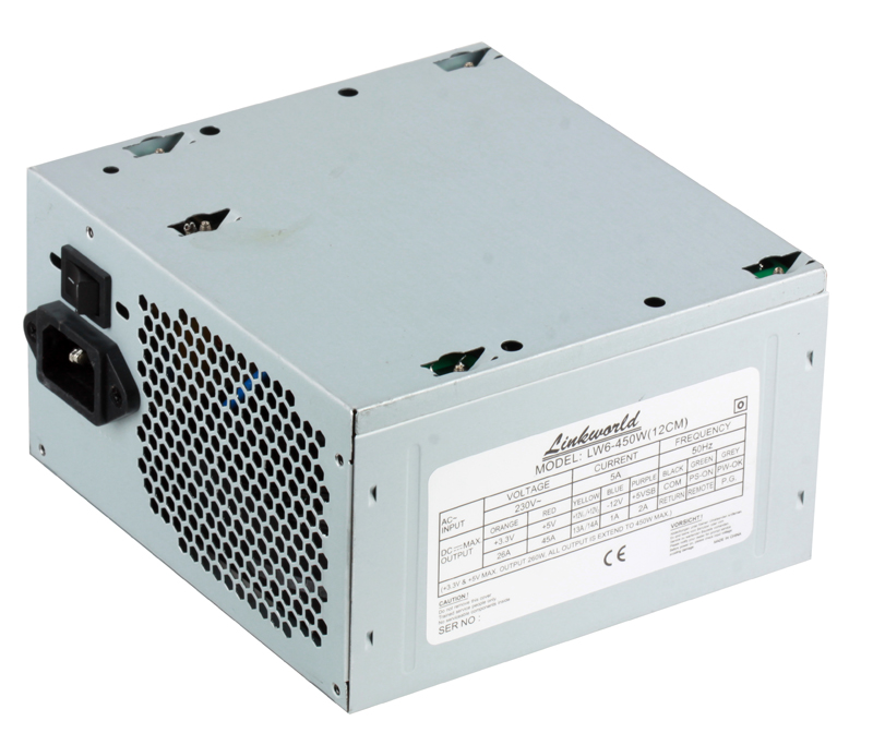 Блок питания Linkworld LW6-450W, ATX. Fan 12cm