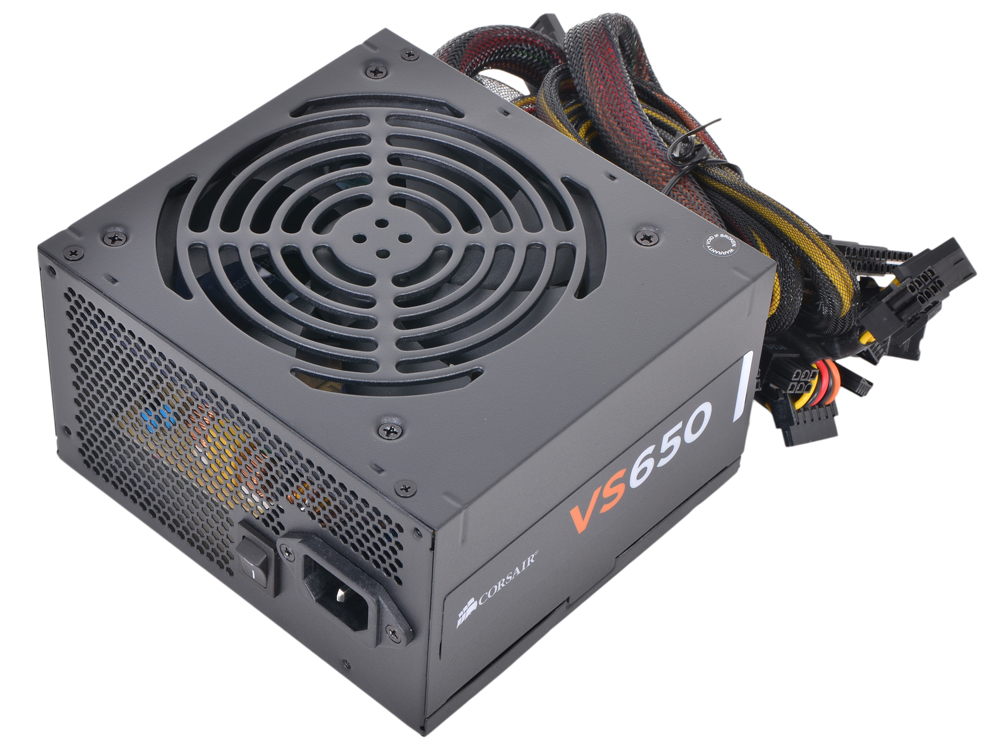 Блок питания Corsair 650W (VS650) v.2.31,A.PFC,Fan 12 cm,Retail mechatronics 4020 g4020h05b1 rsr 5v 0 320a fan