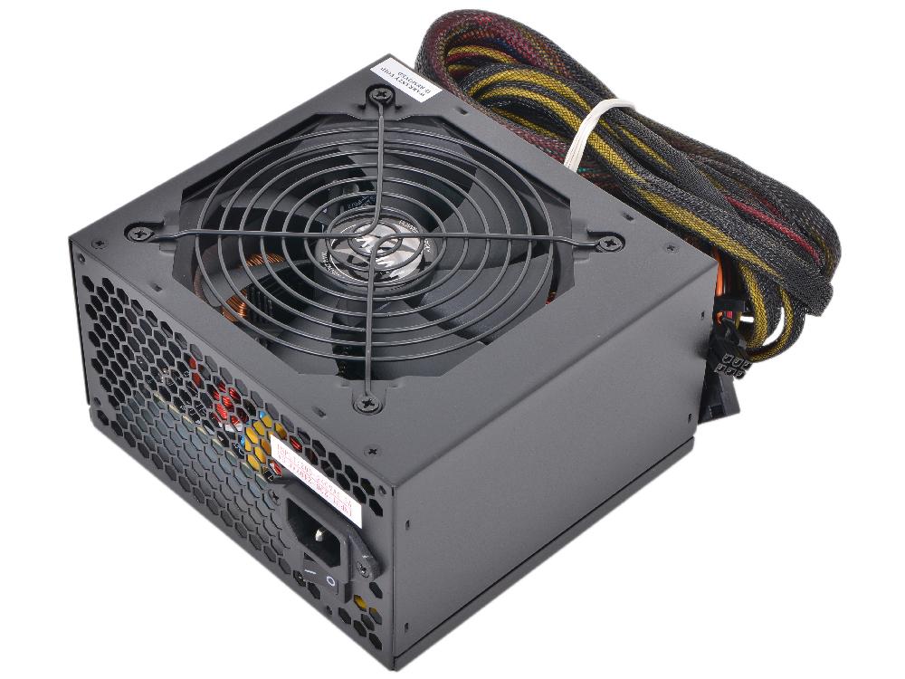 Блок питания Zalman 500W ZM500-LX v2.3,A.PFC,Fan 12 cm,Retail блок питания пк zalman 500w zm500 lx zm500 lx