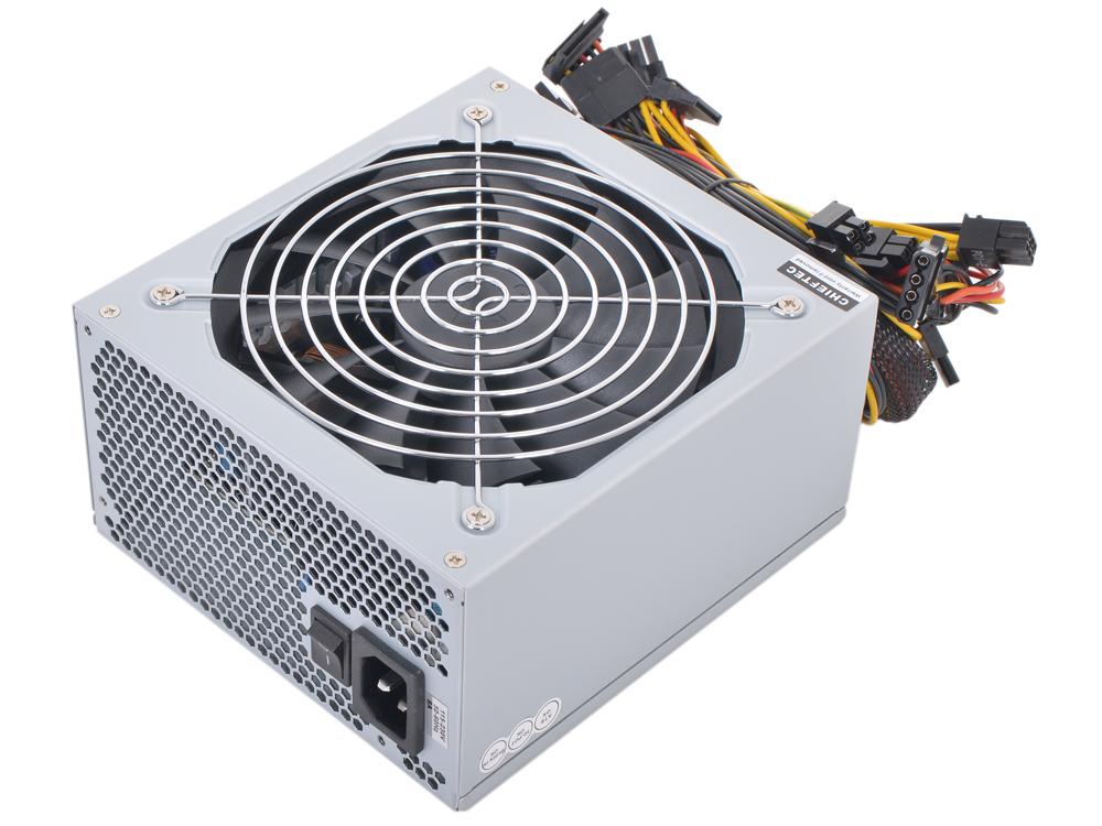 Блок питания Chieftec 500W Retail APS-500SB [А-135] v.2.3/EPS, 80+ BRONZE, A.PFC, 2x PCI-E (6+2-Pin), 6x SATA, 3x MOLEX, Fan 14cm