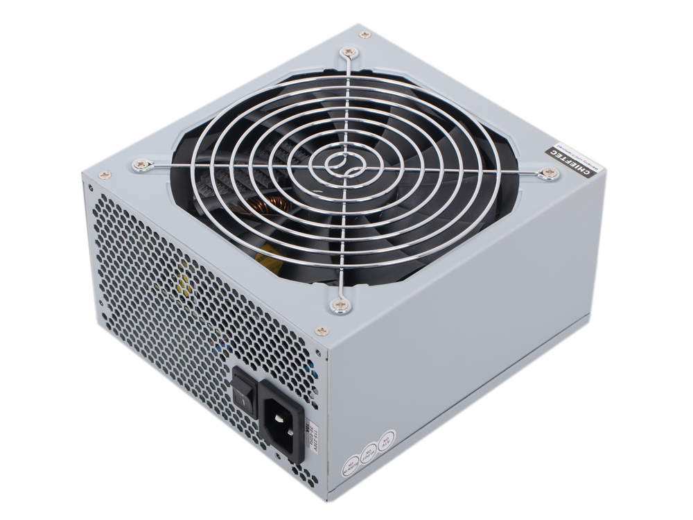 Блок питания Chieftec 650W Retail APS-650SB v.2.3/EPS, 80+ BRONZE, A.PFC, 2x PCI-E (6+2-Pin), 6x SATA, 3x MOLEX, Fan 14cm