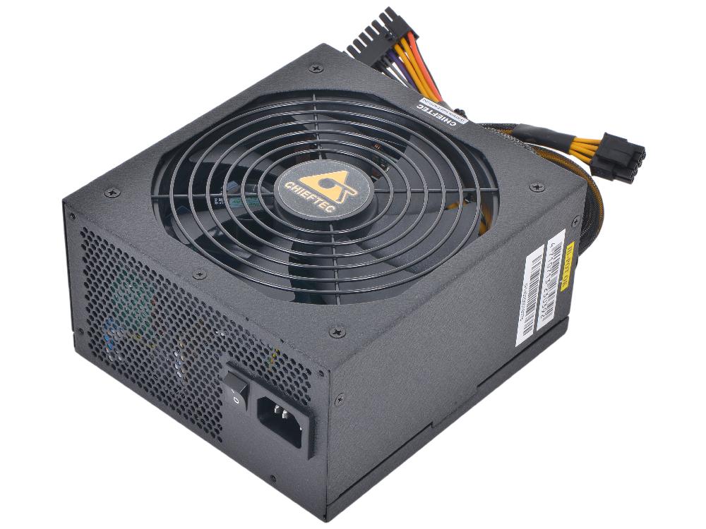 Блок питания Chieftec 1000W Retail GPM-1000C [Navitas] МОДУЛЬНЫЙ, ATX v.2.3/EPS(4+4) x2, 80+ Gold, A.PFC, 4x PCI-E (6+2-Pin), 10x SATA,