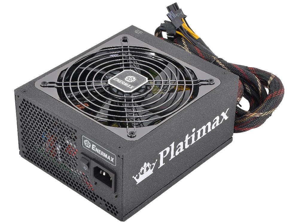 Блок питания Enermax 850W EPM850EWT [Platimax] , ATX v2.4/EPS, 80+ Platinum, модульный, 139mm fan, 6x PCI-E (6+2-Pin), 12x SATA, 8x