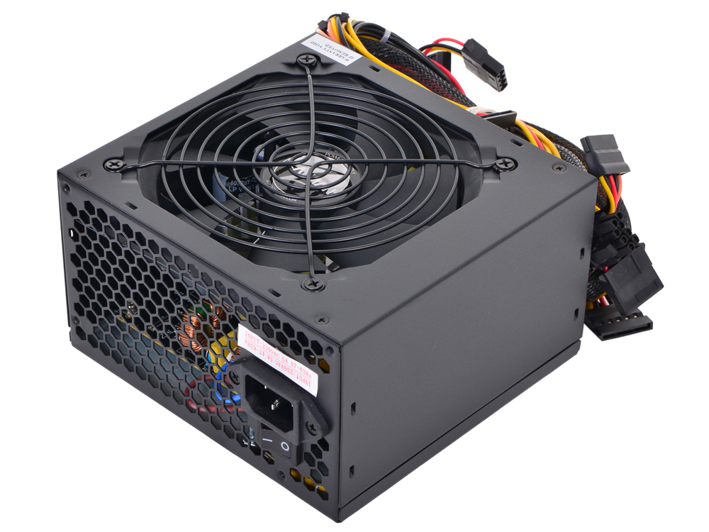 Блок питания Zalman 600W ZM600-LE v2.3, Fan 12 cm, Retail