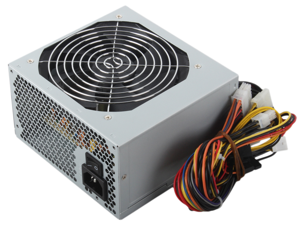 Блок питания FSP 500W (QD-500 80+) v.2.3, A.PFC, fan 12 cm блок питания accord atx 1000w gold acc 1000w 80g 80 gold 24 8 4 4pin apfc 140mm fan 7xsata rtl