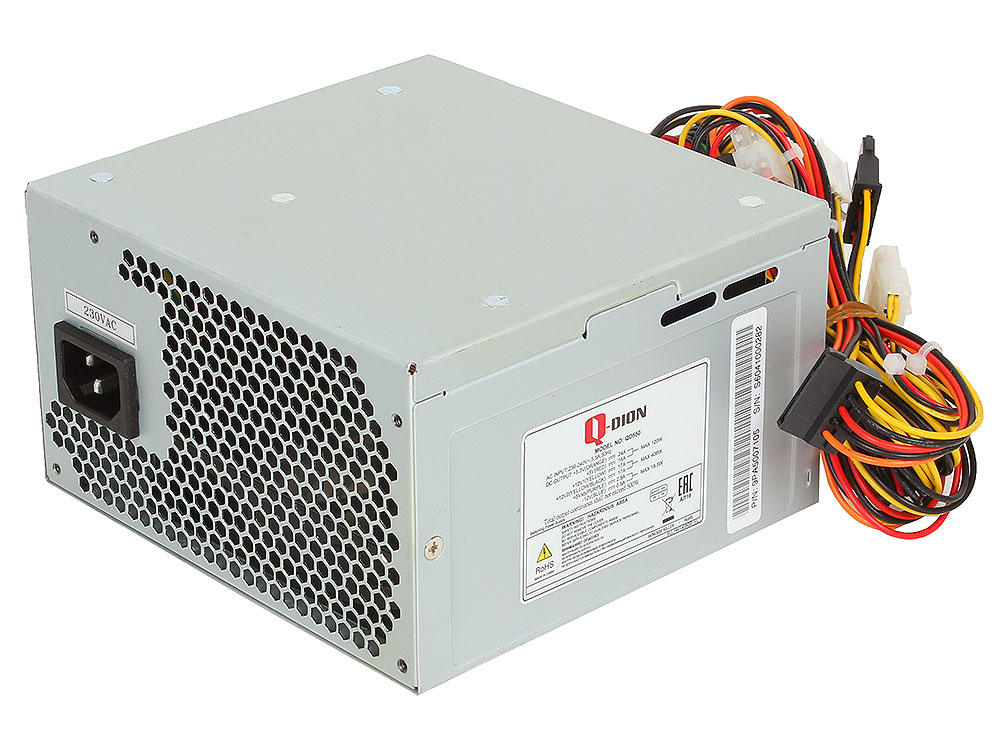 Блок питания FSP 550W (QD550) v.2.3, A.PFC, fan 12 cm
