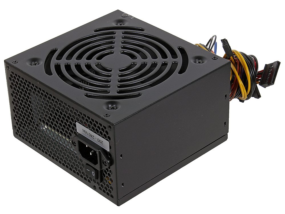 Блок питания Aerocool 350W OEM версия VX-350 ATX v2.3 Haswell, fan 12cm, 450mm cable, power cord, 20+4P/4+4P/SATA x2 /MOLEX x2/FDD