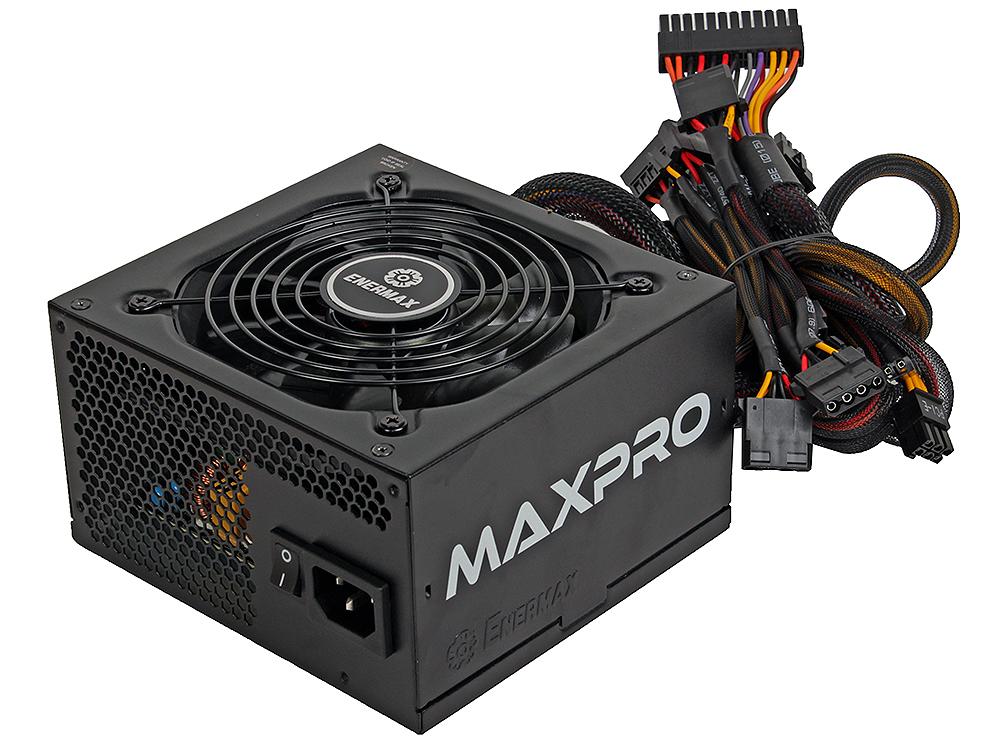 Блок питания Enermax 600W/660W (пик.нагрузка) EMP600AGT [MaxPro] , ATX v2.3, 80+, КПД > 87%, 2x PCI-E (6+2-Pin), 6x SATA, 4x MOLEX