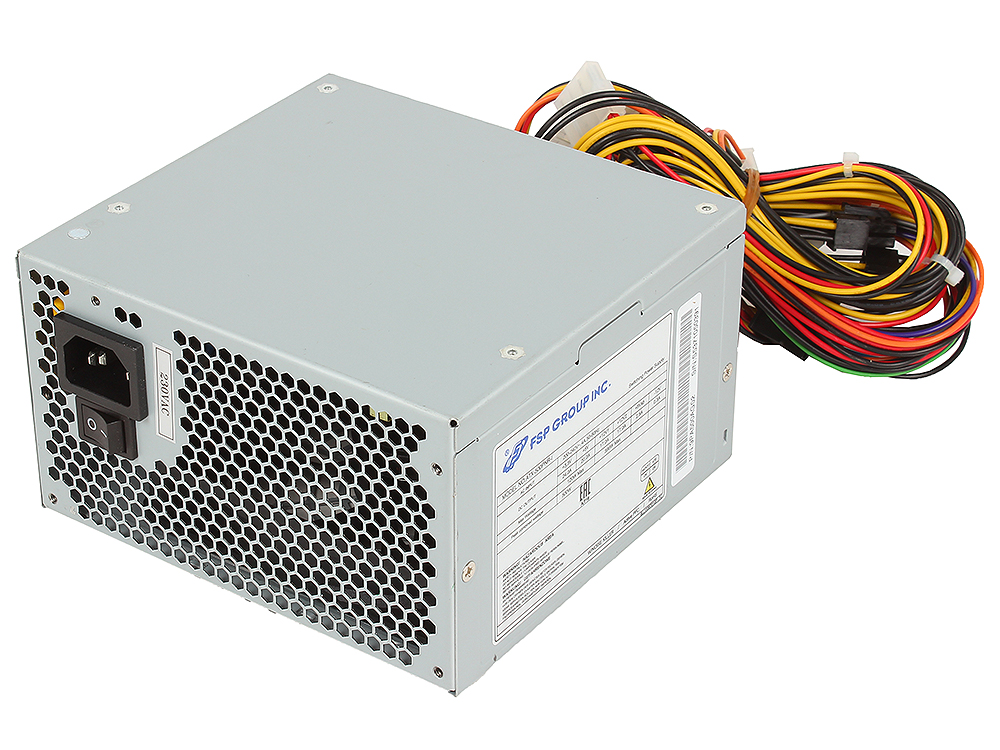 Блок питания FSP 600W (600-PNR-I) v.2.2 ,A.PFC,20+4pin,fan 12 см