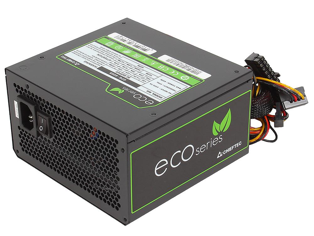 Блок питания Chieftec 400W Retail GPE-400S [Eco] ATX v.2.3, КПД > 85%, A.PFC, 4x SATA, 2x MOLEX, 4 Pin, Fan 12cm