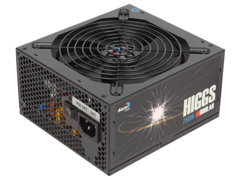 HIGGS-750W блок питания 750w aerocool higgs gold 750w
