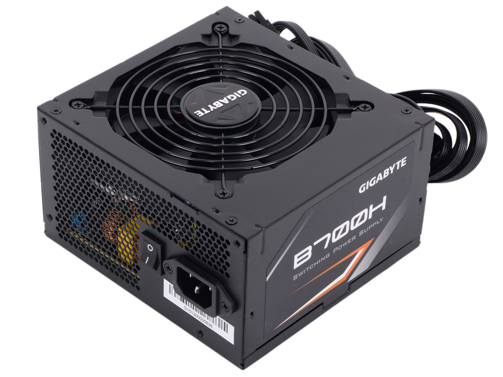 Блок питания Gigabyte B700H 700W ATX2.3, модульный, 12см вен-р