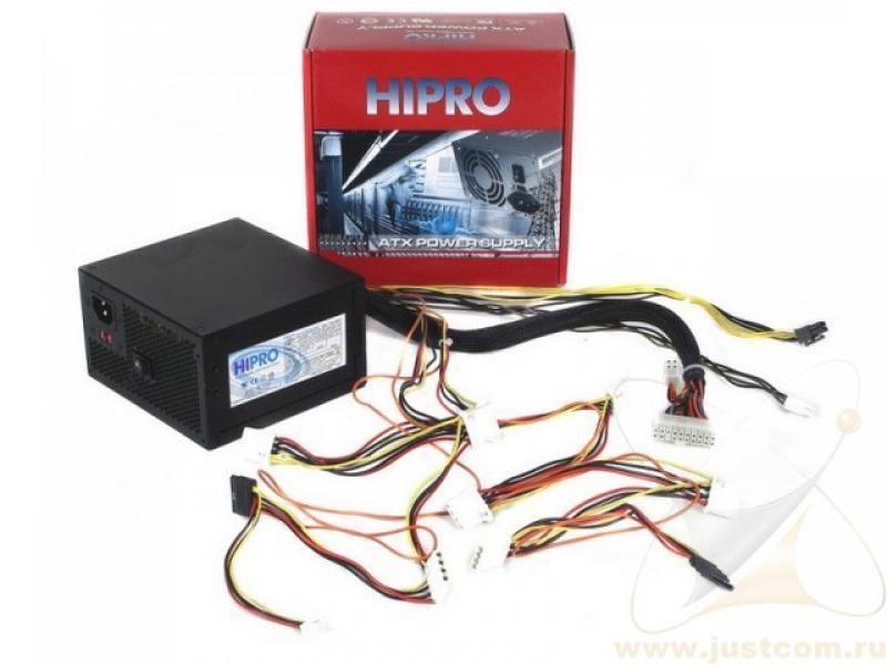 Блок питания ATX 350 Вт Hipro HPE350W