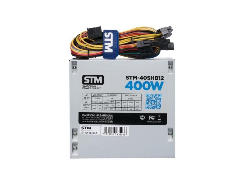 Блок питания ATX 400 Вт STM STM-40SHB12