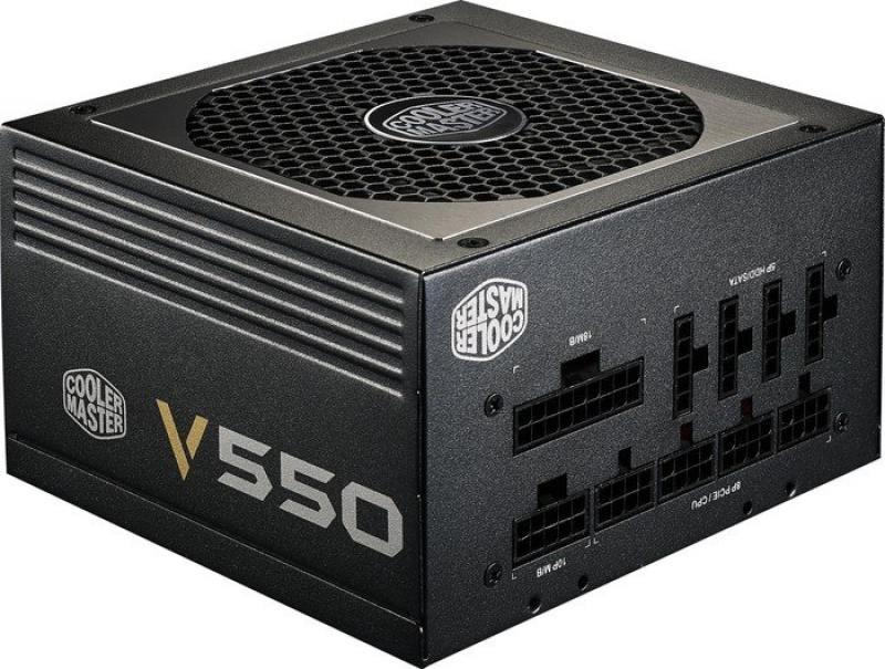 Блок питания ATX 550 Вт Cooler Master RS550-AFBAG1-EU блок питания atx 1500 вт cooler master mpz f001 afbat eu