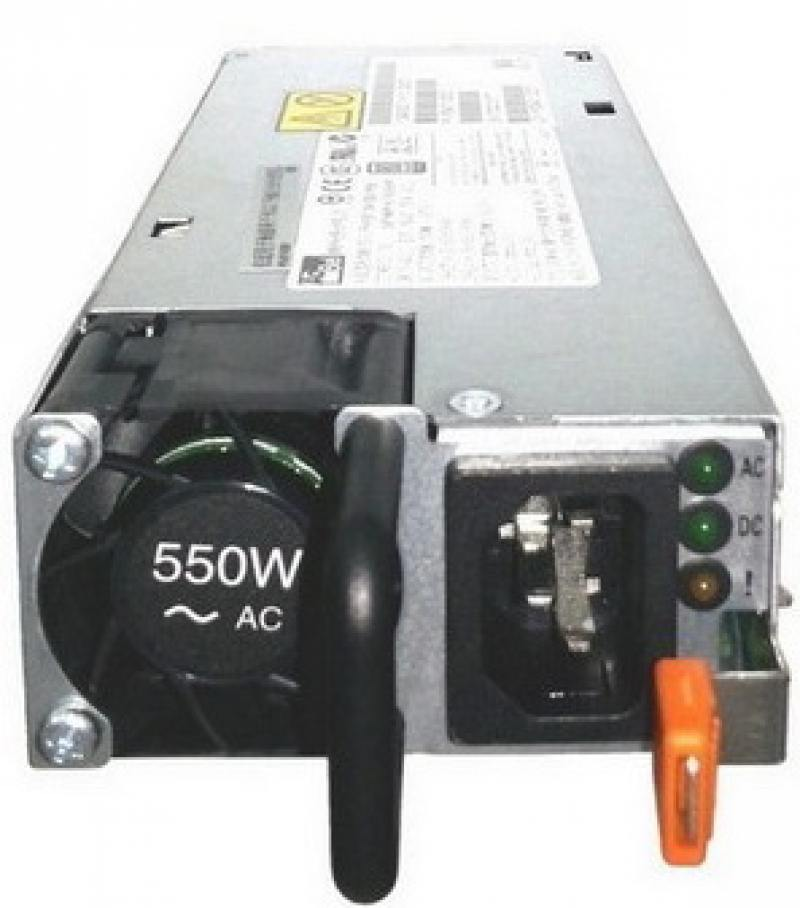 Блок питания 550 Вт IBM High Efficiency Platinum AC Power Supply 00FK930 блок питания сервера lenovo 450w hotswap platinum power supply for g5 4x20g87845 4x20g87845