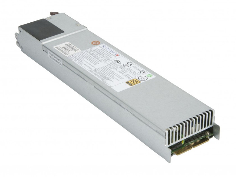 Блок питания SuperMicro PWS-1K21P-1R 1200W бп 700 вт supermicro pws 703p 1r