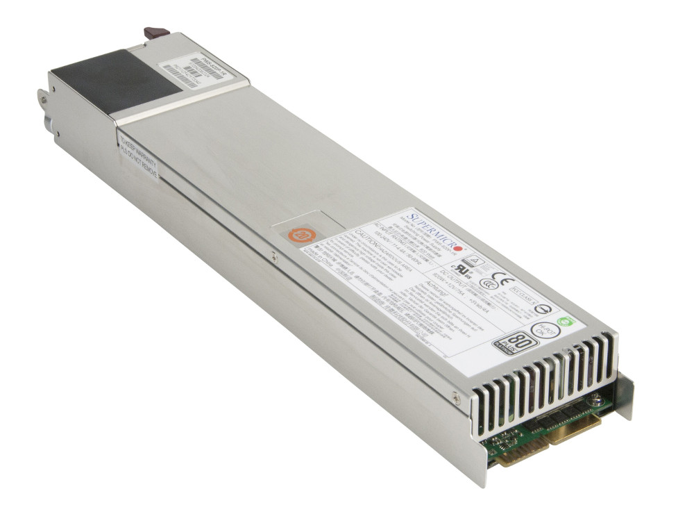 Блок питания SuperMicro PWS-920P-1R 920W pws 1k21p 1r for 1200w redundant server power supply 80 plus gold