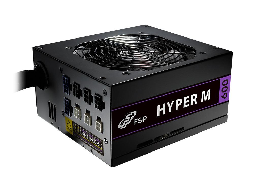 Блок питания FSP Hyper M 600W v.2.4,A.PFS,80 Plus Bronze,Fan 12 cm,Modular,Retail. Производитель: FSP, артикул: 0476522