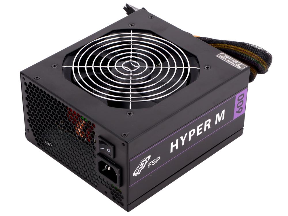 Блок питания FSP Hyper M 600W v.2.4,A.PFS,80 Plus Bronze,Fan 12 cm,Modular,Retail