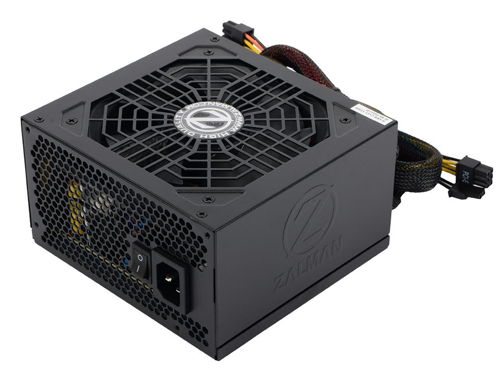 Блок питания Zalman 700W ZM700-GVM v2.31, A.PFC, 80 Plus Bronze, Fan 12 cm, Semi Modular, Retail блок питания bequiet system power 9 700w v2 4 a pfc 80 plus bronze fan 12 cm retail