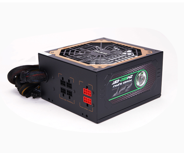 все цены на  Блок питания Zalman 650W ZM650-EBT v2.3, A.PFC, 80 Plus Gold, Fan 14 cm, Fully Modular,Retail  онлайн