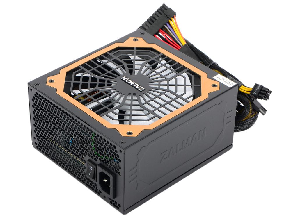 Блок питания Zalman 650W ZM650-EBT v2.3, A.PFC, 80 Plus Gold, Fan 14 cm, Fully Modular,Retail