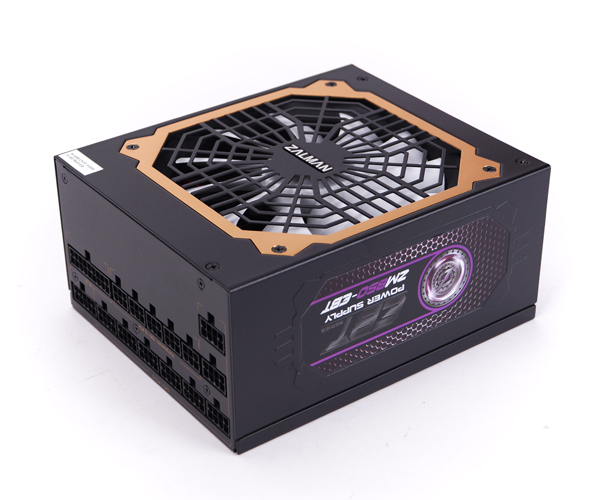 Блок питания Zalman 850W ZM850-EBT v2.3, A.PFC, 80 Plus Gold, Fan 14 cm, Fully Modular,Retail