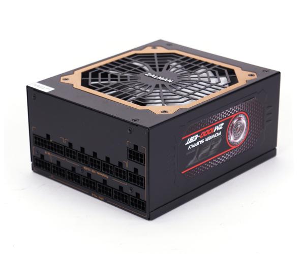 Блок питания Zalman 1000W ZM1000-EBT v2.3, A.PFC, 80 Plus Gold, Fan 14 cm, Fully Modular,Retail