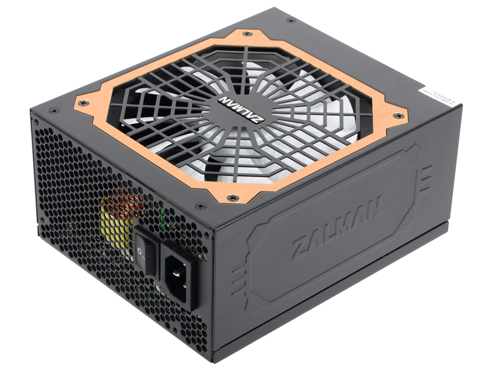 все цены на Блок питания Zalman 1000W ZM1000-EBT v2.3, A.PFC, 80 Plus Gold, Fan 14 cm, Fully Modular,Retail