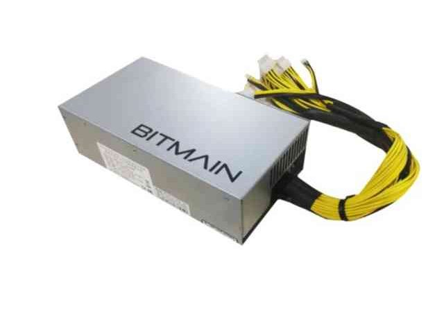 Блок питания Bitmain APW7 for Antminer 1800W 10x6-pin 12V power connectors power supply for dps 1600bb a 74p4400 74p4401 1800w mining psu fully tested