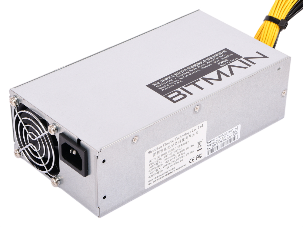 Блок питания Bitmain APW7 for Antminer 1800W 10x6-pin 12V power connectors сумка для мамы ju ju be be classy sweet scarlet