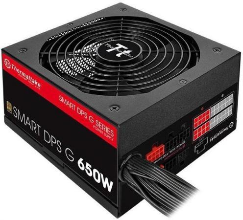 Блок питания ATX 650 Вт Thermaltake Smart DPS PS-SPG-0650DPCGEU-G блок питания atx 650 вт thermaltake smart dps ps spg 0650dpcgeu g