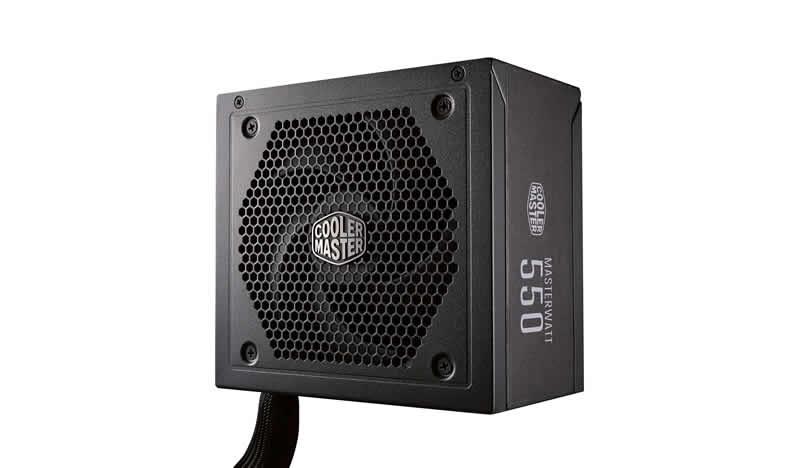 Блок питания ATX 550 Вт Cooler Master MasterWatt 550 MPX-5501-AMAAB-EU корпус miditower atx w o psu mcb e500lka5ns01 cooler master