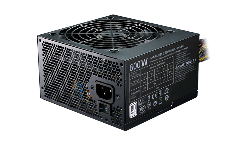 Фото - Блок питания ATX 600 Вт Cooler Master MasterWatt Lite 600 MPX-6001-ACABW-ES блок питания accord atx 1000w gold acc 1000w 80g 80 gold 24 8 4 4pin apfc 140mm fan 7xsata rtl