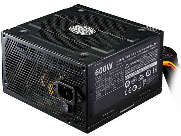 Power Supply Cooler Master Elite V3 600, 600W, ATX, 120mm, 3xSATA, 1xPCI-E(6+2), APFC realan htpc computer case with power supply e w60