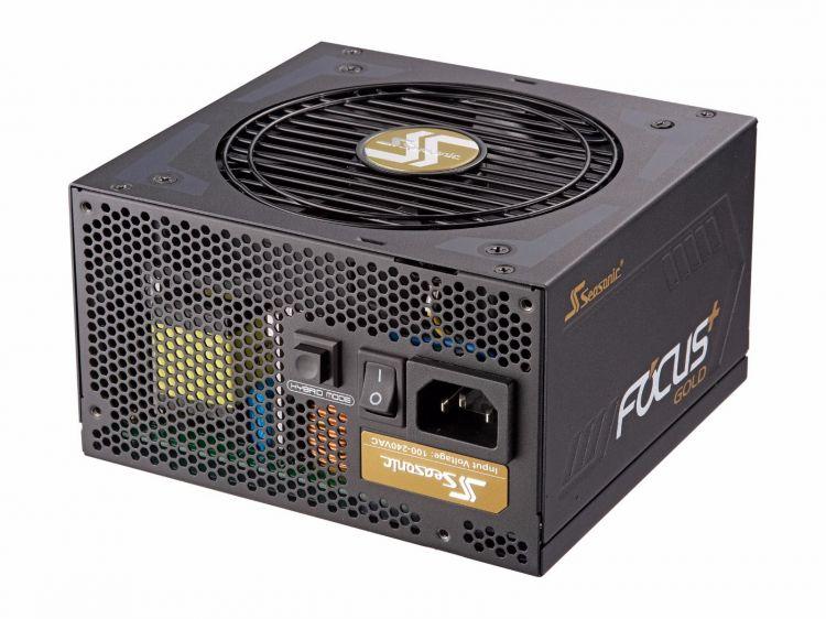 Блок питания Seasonic ATX 750W FOCUS Plus SSR-750FX 80+ gold (24+4pin) APFC 120mm fan 8xSATA Cab M 12v 2 pin computer cooler small cooling fan 120mm x 120mm x 25mm pc box system hydraulic cooling fan for computer heatsink z09