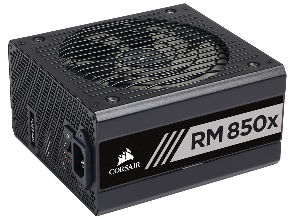 Блок питания Corsair RMx Series. RM850x 80 PLUS Gold Fully Modular ATX Power Supply, EU Version segotep 800w gp900g full modular atx pc computer power supply gaming psu 12v active pfc sli ready 91