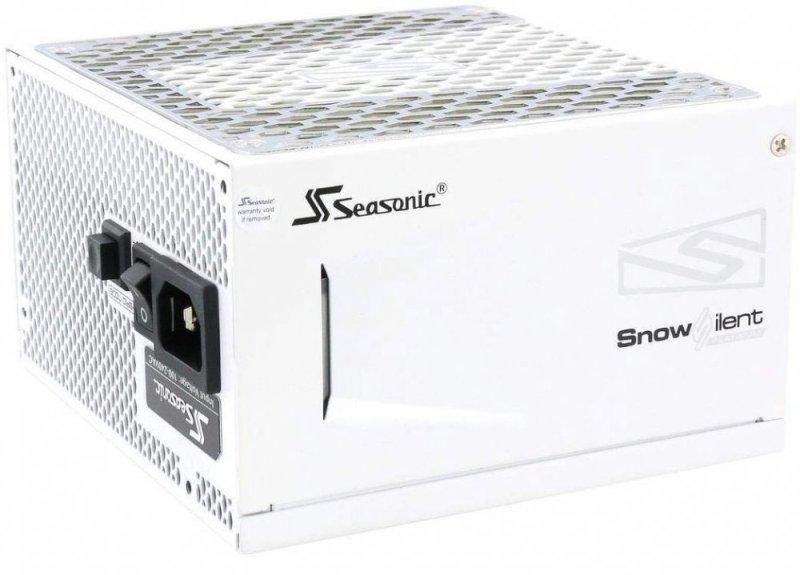 Блок питания SeaSonic PRIME SNOWSILENT 650 PLATINUM SSR-650PD2-SNOWSILENT (APFC 0.99; modular, Fan 135mm, Premium Hybrid Fan Control) ATX