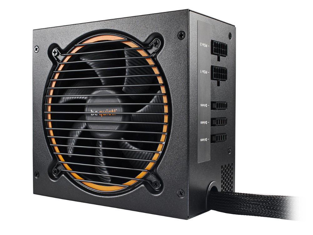 Блок питания be quiet! PURE POWER 11-CM 500W / ATX 2.4, Active PFC, 80PLUS Gold, 120mm fan, CM / BN2 12v 2 pin computer cooler small cooling fan 120mm x 120mm x 25mm pc box system hydraulic cooling fan for computer heatsink z09